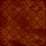 Brown patterned grunge background. Brown patterned and textured grunge background Royalty Free Stock Image