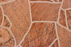 Brown patterned tiles. Stock Photography
