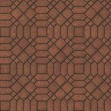 Brown Pavement with a Complicated Pattern. Royalty Free Stock Photography
