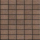 Brown Paving Slabs - Rectangles of the Single Size Stock Images