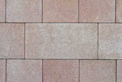 Brown paving stones Royalty Free Stock Photo