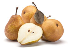 Brown pear Stock Photography