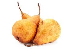 Brown pear fruit stock photos