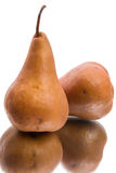 Brown pear Stock Photos