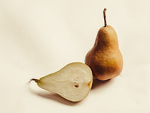 Brown Pear Royalty Free Stock Photography