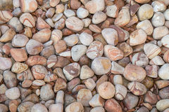 Brown pebbles background Stock Image
