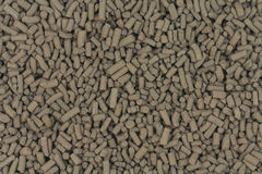 Brown pellet catalyst abstract background Royalty Free Stock Photography