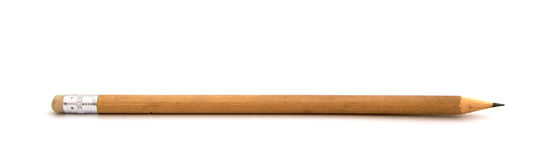 Brown Pencil Frontal Stock Photos