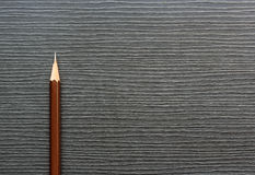 Brown pencils on background Stock Photography