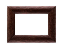 Brown photo frame Royalty Free Stock Photography