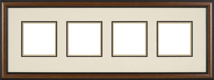 Brown Picture frame Royalty Free Stock Photography