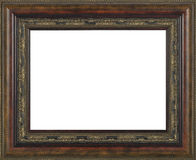 Brown Picture frame Royalty Free Stock Photos