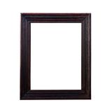 A brown picture frame Royalty Free Stock Photo