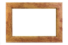 Brown picture frame Royalty Free Stock Images