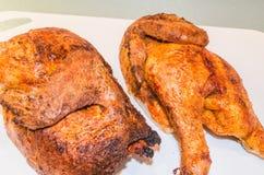 Brown piec na grillu kurczaka Obrazy Royalty Free