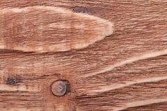 Brown pine wood texture close-up. Stock Photo