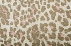 Brown and pink leopard pattern. Stock Photos