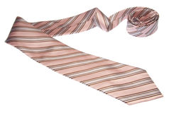 Brown and Pink Tie Stock Images