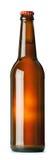 Brown piwna butelka Fotografia Stock