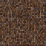 Brown pixel abstract background Stock Image