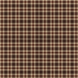 Brown Plaid Royalty Free Stock Images