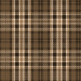 Brown Plaid Background. Plaid background design in brown and beige tones Stock Photos