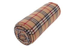 Brown  plaid, Royalty Free Stock Image