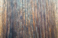 Brown plank texture. Cracked board royalty free stock image