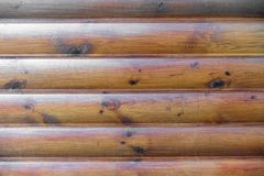 Brown plank wood wall background. stock photo