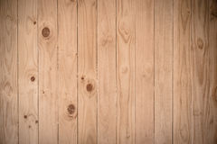 Brown plank wood wall background Royalty Free Stock Images