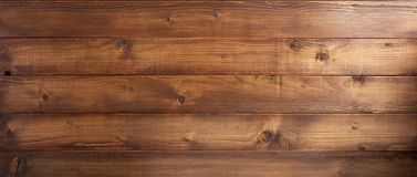 Brown plank wooden background. Texture stock photography