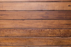 Brown plank wooden wall Royalty Free Stock Photo