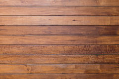 Brown plank wooden wall Stock Images