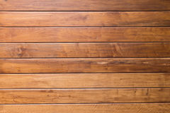 Brown plank wooden wall Stock Image