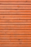 Brown planks of wooden wall Stock Images