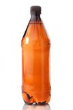 Brown plastic bottle Stock Photography