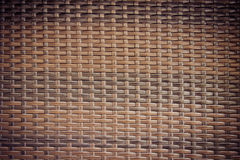 Brown Plastic Weave background Stock Photo