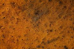 Brown-Plastikbeschaffenheit von einem St?ck altem schmutzigem Schaumgummi stockbild