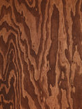 Brown plywood abstract wood texture Royalty Free Stock Photography