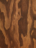 Brown plywood wooden texture Royalty Free Stock Photos