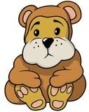 Brown poco orso illustrazione vettoriale