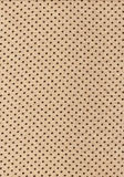 Brown polka dot vintage pattern on cloth texture Stock Photos