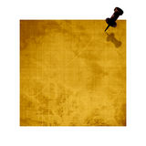 Brown post it Royalty Free Stock Photo