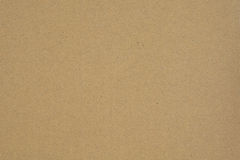 Brown post paper box. Royalty Free Stock Images