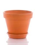 Brown pot Royalty Free Stock Photo
