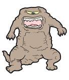 Brown potwór Zdjęcie Royalty Free