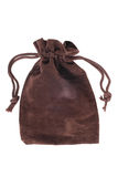 Brown pouch Royalty Free Stock Photography