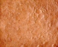 Brown präglde stenbakgrund Fotografering för Bildbyråer
