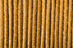 Brown Pretzel Rods for Background Royalty Free Stock Image