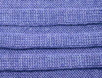 Brown proveyó de costillas las lanas de punto como la textura, je hecho punto las telas texturizado Fotografía de archivo libre de regalías